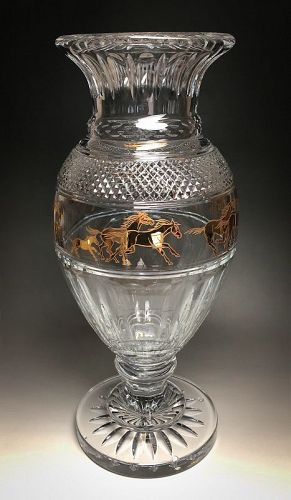 Rally Crystal Vase by Baccarat, Limited Edition 38/99