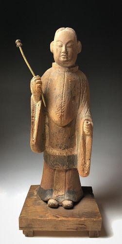 Heian Period Statue of Shotoku Taishi