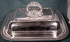 Silverplate DIVIDED COVERED ENTREE SERVING DISH