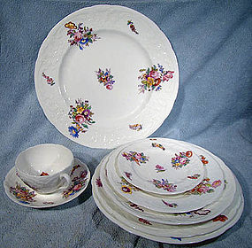 Coalport SEVRES GROUP HP CHINA c1915- Assorted Pieces