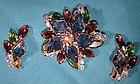 Vintage DELIZZA & ELSTER JULIANA RS PIN & EARRINGS