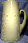 "HEISEY EAPG WINGED SCROLL CUSTARD 9-1/2"" PITCHER c1900"