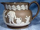 Rare CLEWS JASPERWARE CREAM JUG 1815-34