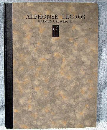 ALPHONSE LEGROS PRINT COLLECTORS CLUB BOOK #109/500