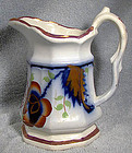 GAUDY WELSH PEARL WHITE IRONSTONE ITEMS c1820-50