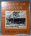 Paul Duval GROUP OF SEVEN DRAWINGS ART BOOK