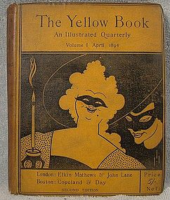 AUBREY BEARDSLEY THE YELLOW BOOK - 3 Volumes Available