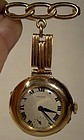 RYRIE VERNON 9K ROSE GOLD LADY'S HANGING WATCH on PIN