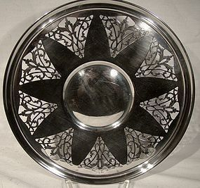 Ryrie Ellis Pierced STERLING SILVER TRAY c1920s
