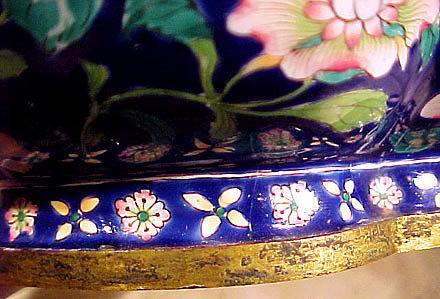 Late 18thC Qing Dynasty CANTON ENAMEL BOWL