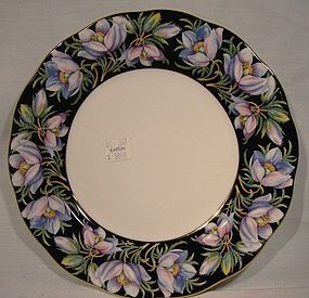 "Royal Albert PRAIRIE CROCUS Prov. Flowers 8-1/4"" PLATE"