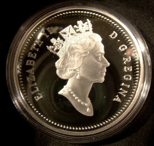 CANADA 1999 OLDER PERSONS PROOF SILVER DOLLAR in Case