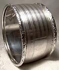 Birks Sterling Silver NAPKIN RING  - No Monogram 1930s-50s