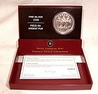 2005 Canada 5 DOLLARS End of World War II Pure Silver Coin in Case