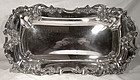 Derby Silver Company Art Nouveau Floral Bread or Roll Tray 1890s