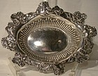 Art Nouveau STERLING CANDY DISH or Bowl 1900 Woman's Head