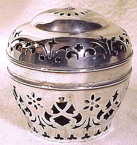 Antique Victorian Gorham Sterling Silver String Holder Unusual