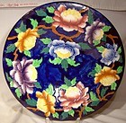 "Maling Peony 6504A Large 10-7/8"" Centerpiece Bowl 1930s"