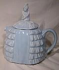 Sadler Ye Daintee Ladyee Blue Teapot 1930s 1940s