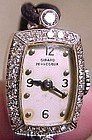 Girard Perregaux 14K White Gold Lady's Diamond Wristwatch