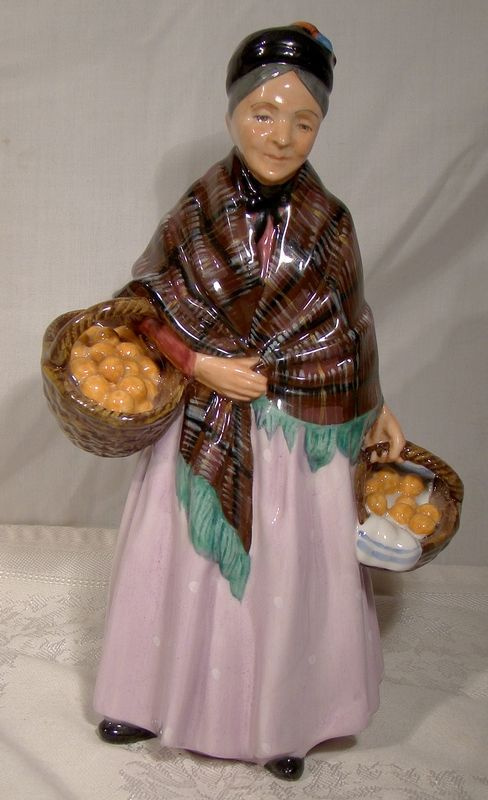 Royal Doulton The Orange Lady HN1759 Early Figurine