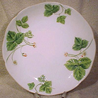 Minton Wild Strawberries A2625 Hand Painted Berry or Fruit Bowl 1866