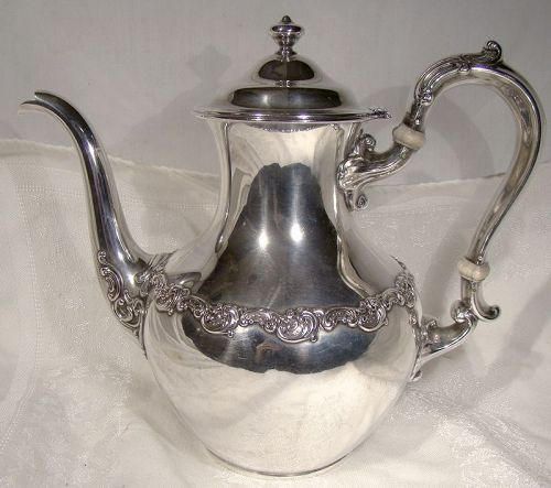 Gorham Sterling Silver Coffee Pot 1899
