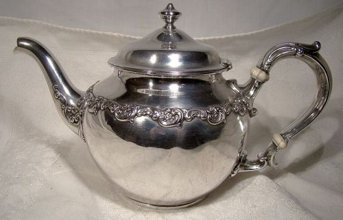 Gorham Sterling Silver Tea Pot 1899