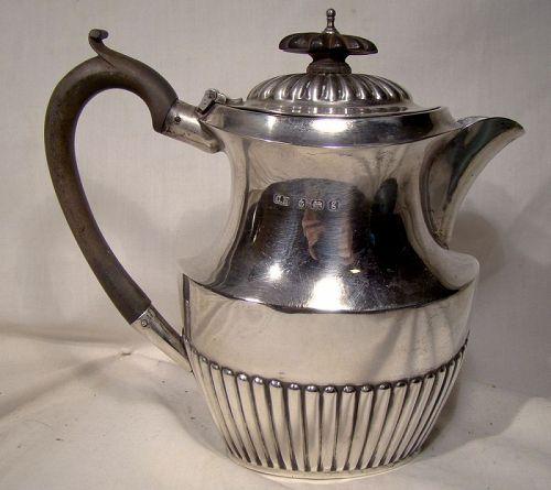 Charles Horner Sterling Silver Hot Water Pot - Birmingham England 1906
