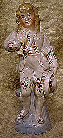19thC German BUGLER PORCELAIN FIGURINE