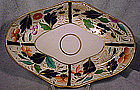 Georgian ENGLISH HAND PAINTED IMARI DESSERT DISH 1800 1820