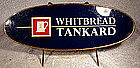 WHITBREAD TANKARD BEER PUB or BAR SIGN 1950s 1960