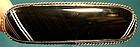 19thC SCOTTISH BANDED ONYX  STERLING PIN  c1850-80