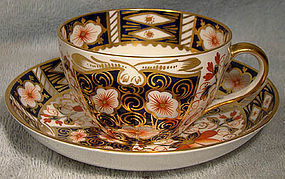 Royal Crown Derby OLD IMARI 2451 CUP & SAUCER - 1906