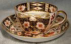 Royal Crown Derby OLD IMARI 2451 CUP & SAUCER - 1906