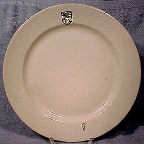 CANADIAN PACIFIC RAILROAD DINING CAR SERVICE PLATE