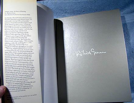 ROBERT GENN IN PRAISE OF PAINTING MERRITT 1981
