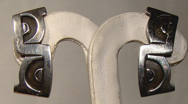 EMMA MELENDEZ Mexican Silver EARRINGS