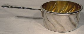 Moritz ELIMEYER 900 SILVER BRANDY PAN late 19thC Measure