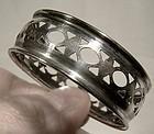 Vintage RODEN BROS BIRKS STERLING SILVER NAPKIN RING