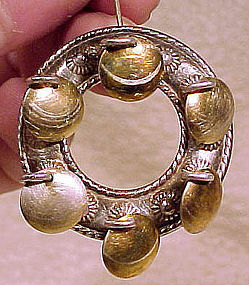 Fine SOLJE NORWAY GILT STERLING BROOCH