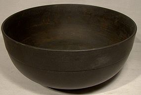 GEORGIAN WEDGWOOD BLACK BASALT BOWL