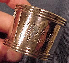 Vintage Roden Sterling Silver Napkin Ring