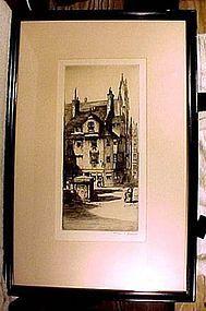 CHARLES H. CLARK John Knox House Ltd. Edit. ETCHING