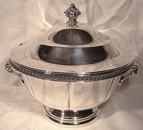 c1950s Rogers SP COVERED SAUCE or SMALL SOUP TUREEN
