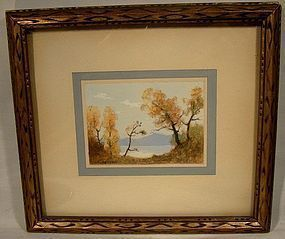 JOHN HUBERT BEYNON Watercolor Painting Canadian 1890-1970 Watercolour