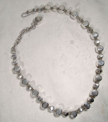 Ilaria Peru 950 Silver Beads Necklace - 60.2 Grams