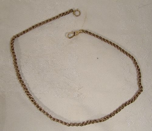 10K Victorian 19th Century Chain Necklace