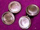 GREY ABALONE SHELL CUFFLINKS c1910-20