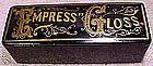 EMPRESS GLOSS PAPIER MACHE ADVERTISING BOX 1880-1900